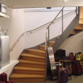 Gewundene Treppe